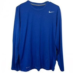 Men's Nike Long Sleeve Dri-Fit Activewear T-Shirt